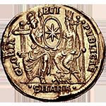 Gloria Rei Publicae - Rome Facing New Rome